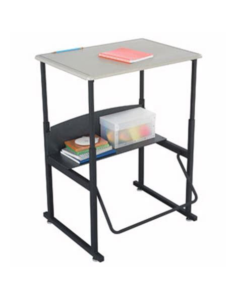safco alphabetter desk 28x20 without book box 1201be engineersupply