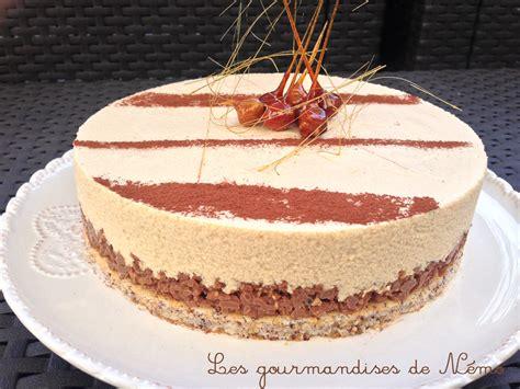 entremet chocolat dulcey valrhona mousse dulcey croustillant gavottes pralinoise et g 233 noise