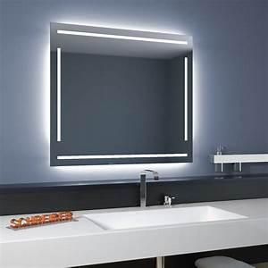 Spiegel Mit Hinterleuchtung : badspiegel linea led 4s moderne led lampen ~ Markanthonyermac.com Haus und Dekorationen