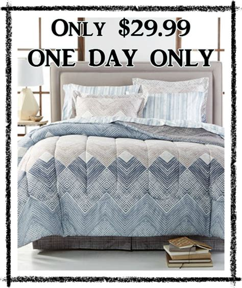 macy s 8 bedding sets all sizes only 29 99 shipped deal