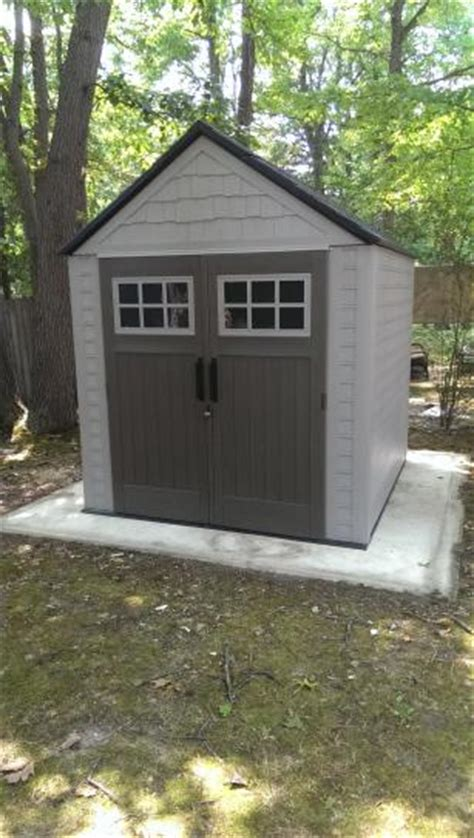 rubbermaid big max shed 7x7 rubbermaid shed in chippewa falls wi rubbermaid storage