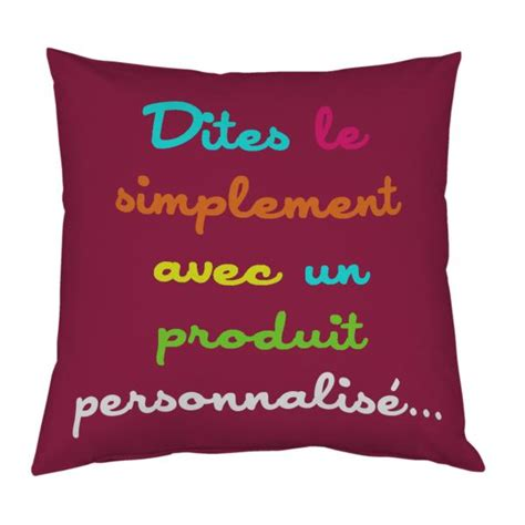 coussin personnalis 233 decodeo