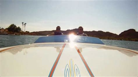 Parker Hot Boats by Parker Strip Hot Lap In Twin Turbo V Drive Boat With