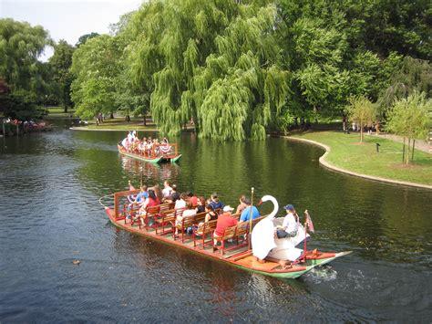 Swan Boats Boston Public Garden file swan boats at the public garden in boston