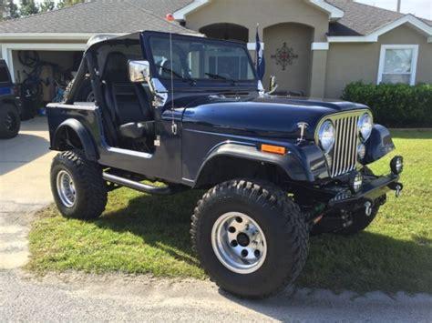 1983 Jeep Cj7 42l 258 For Sale  Jeep Cj 1983 For Sale In
