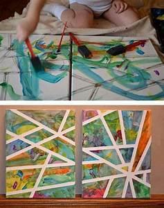 Malen Mit Kindern : mit kindern malen ideen f r den kindergarten pinterest projektideen kunstwerke und f r kinder ~ Markanthonyermac.com Haus und Dekorationen