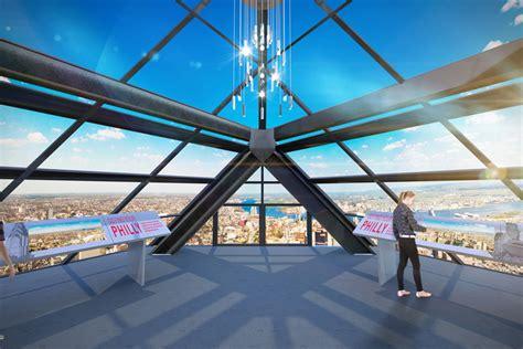 Philadelphia City Observation Deck by Top Five Sky High Vantage Points In Philadelphia Visit