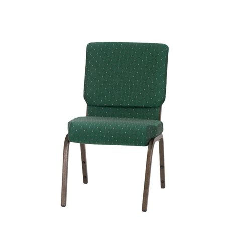 hercules series 18 5 w stacking church chair in green patterned fabric gold vein frame xu ch