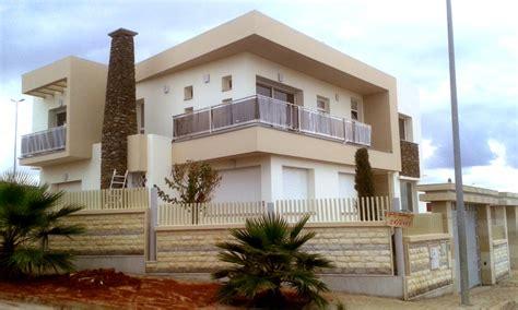 facade villa moderne marocaine chaios