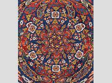 Armenian Carpet In Kaleidoscope R18 Free Stock Photo
