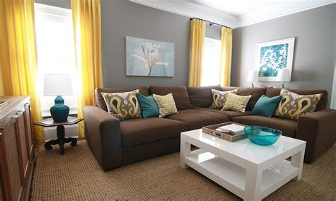 brown and teal living room designs teal yellow brown living room modern house