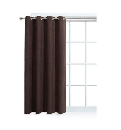 Window Curtains Walmartca by Mainstays Faux Suede Window Panel With Grommets Walmart Ca