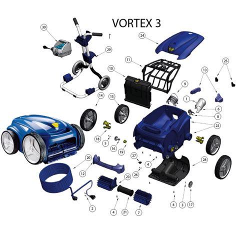 ricambi per robot zodiac vortex 3 bsvillage