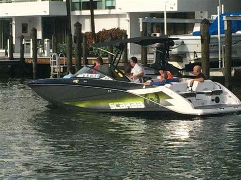 Scarab Wake Boat Reviews by 2016 Scarab Wake Edition 255 Ho Impulse Kenner Louisiana