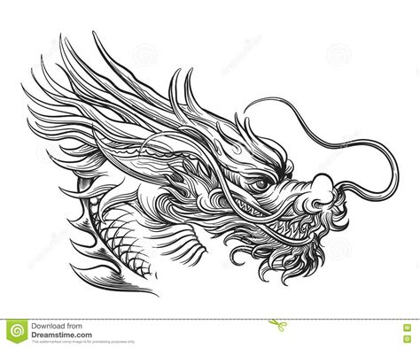 How To Draw A Dragon Boat by Chinese Dragon Face Drawings Www Pixshark Images
