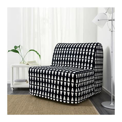Lycksele Chair Bedsofa Bed by Lycksele Murbo Chair Bed Ebbarp Black White Ikea