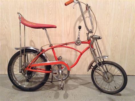 1970 schwinn stingray orange krate 5 speed ebay