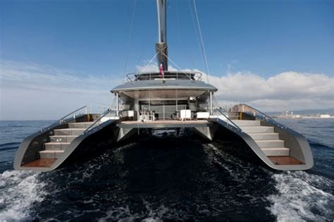 Catamaran Sailing Yacht Manufacturers by Sailing Yacht Cartouche Delivered A Blue Coast 95