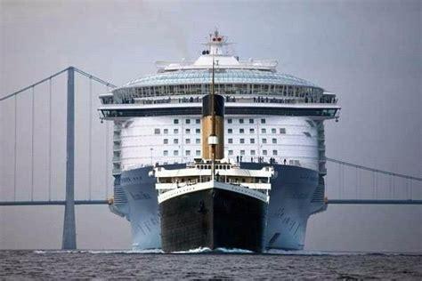 titanic vs modern day cruise ship xcitefun net