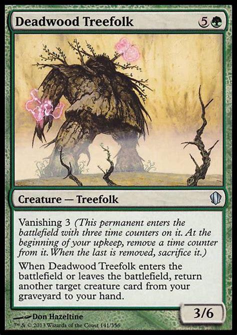 deadwood treefolk mtg card