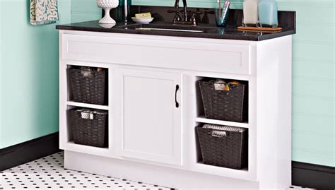 Paint A Bathroom Vanity Buy A Kitchen Sink Drain Odor Brown Sinks Water Coming Up From Faucets Oliveri Undermount Organize Under The Single Bowl Stainless
