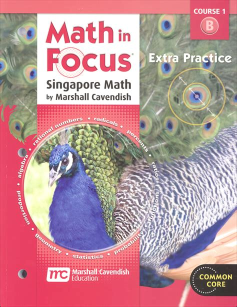 Math In Focus Course 1 Grade 6 Extra Practice B (050941) Details  Rainbow Resource Center, Inc