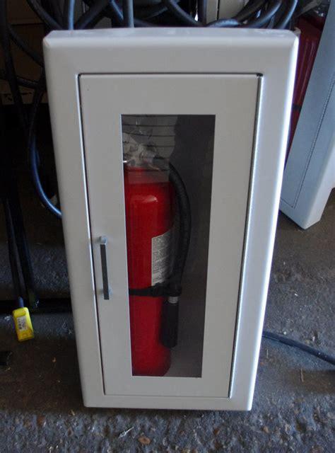 larsen recessed extinguisher cabinet extinguisher ebay