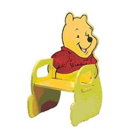 chaise en bois enfant winnie l ourson achat prix fnac