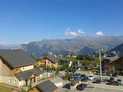 vue du balcon picture of goelia les chalets de la