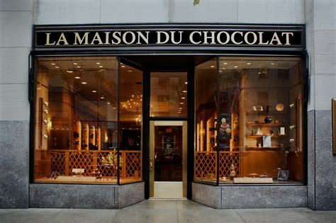 la maison du chocolat shopping in