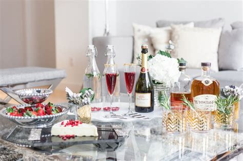 Host A Holiday Cocktail Party  Fashionable Hostess