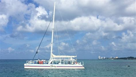 Fury Catamaran Excursion by Day Trips In Cozumel Mexico Catamaran Snorkeling Tour