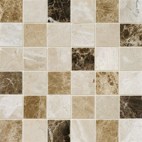 Mosaic Tile Chantilly Virginia by Get Marble Mosaic Geneve Polished 12x12 2x2 In Multicolor