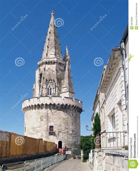 tour de la lanterne in la rochelle royalty free stock photos image 26076258
