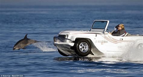 Driving Boat In Waves by From Car To Boat In 15 Seconds 155 000 Panther Car Can