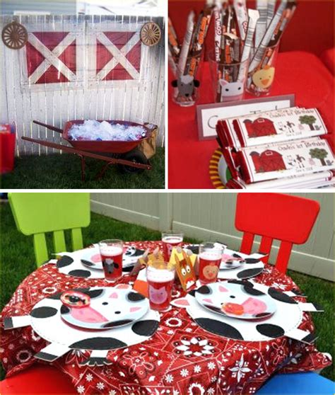 Kara's Party Ideas On The Farm 1st Birthday Party Kara's