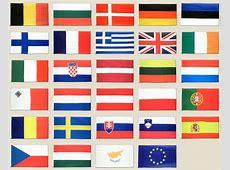 Europa Flaggen Set 90 x 150 cm