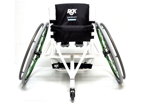 fauteuil sport grand slam rgk access mat 233 riel handi tennis la bocca
