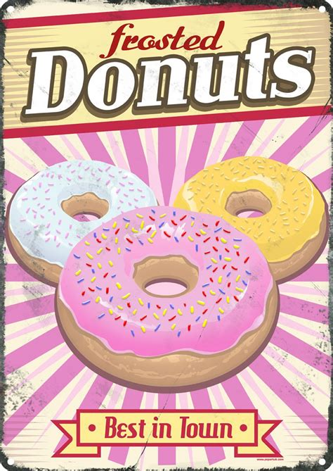 Frosted Donuts Tin Sign 305x405cm  Ebay. Foam Signs. Coffee Menu Signs Of Stroke. Eyelid Dermatitis Signs Of Stroke. Wildflower Signs Of Stroke. Genogram Signs. One Tonsil Signs. Compatibility Signs Of Stroke. Grey Signs Of Stroke