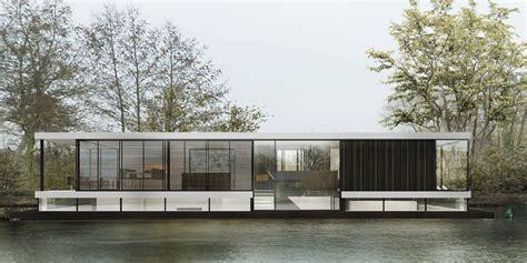 Woonboot Vecht by Woonboot Aan De Vecht Finbarr Mccomb Architect