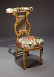 chaise ponteuse d epoque louis xvi fin du xviiieme siecle attribuee a georges jacob christie s