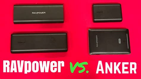 Anker Vs Ravpower by Ravpower Vs Anker Which One Is Right For You Youtube