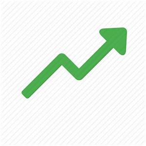 Action, arrow, increase, trending, up icon   Icon search ...