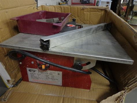 florcraft tile saw 2nd store closing liquidation k bid
