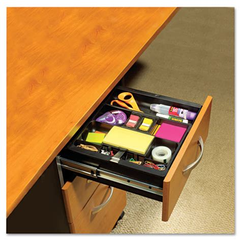 recycled plastic desk drawer organizer tray plastic