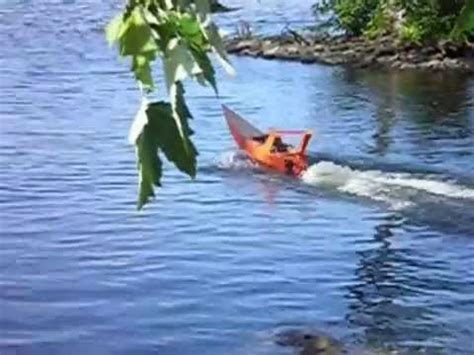 Rc Gas Powered Boats Youtube by Homemade Gas Powered Rc Boat Youtube