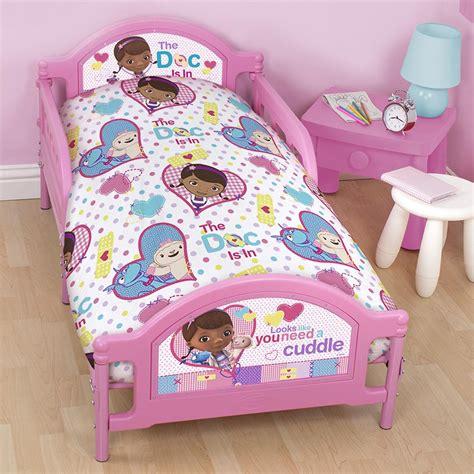 doc mcstuffins patch junior cot bed duvet cover bedding set 4 in 1 bundle ebay
