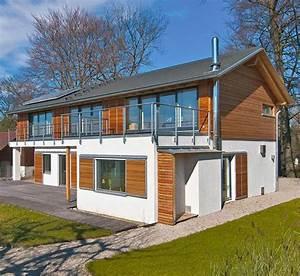 Anbau Holz Kosten : anbau hauserweiterung haede von baufritz ~ Markanthonyermac.com Haus und Dekorationen