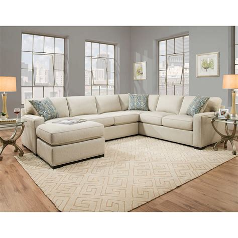 17 kenton fabric sectional sofa 2 chaise
