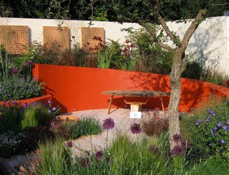 la couleur s invite au jardin cr 233 er un jardin contemporain